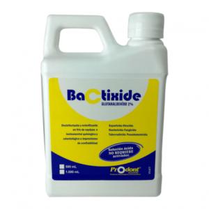 bactixide 500ml esterilizante - Solución con activador Productos Odontológicos y Bioseguridad