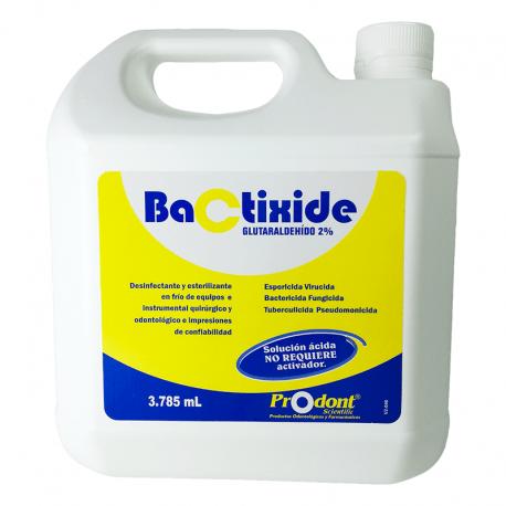 bactixide galon esterilizante - Solución con activador Productos Odontológicos y Bioseguridad