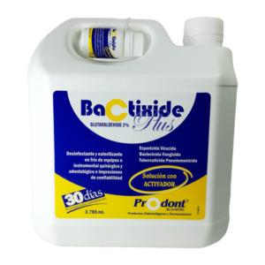 bactixide plus galon esterilizante - Solución con activador Productos Odontológicos y Bioseguridad