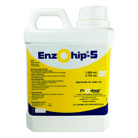 enzohip5 litro Desinfectante hipoclorito de sodio 5%