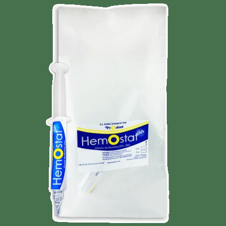 hemostat 5gr Cloruro de aluminio 25% Productos Odontológicos y Bioseguridad