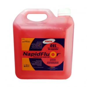 napidfluor fresa galon GEL DE FLUORURO DE SODIO 2% PH ACIDO