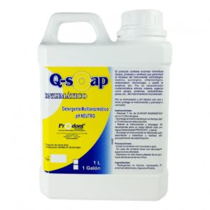 q soap enzimatico1000ml Detergente multienzimático Productos Odontológicos y Bioseguridad Prodont colombia