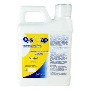 q soap enzimatico500ml Detergente multienzimático Productos Odontológicos y Bioseguridad Prodont colombia
